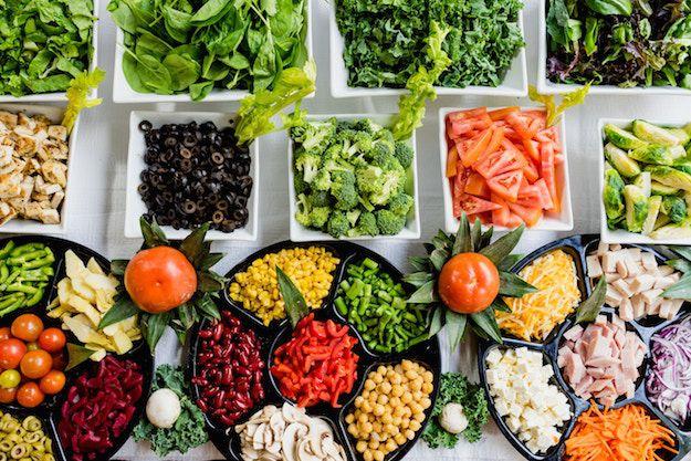 fresh unprocessed foods